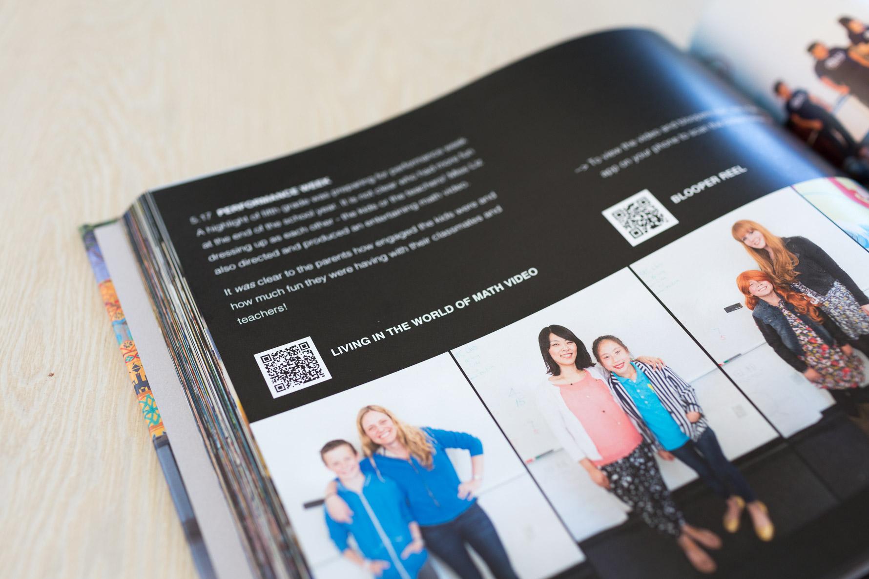 Adding a QR Code to your photo book | suzanneobrienstudio.com