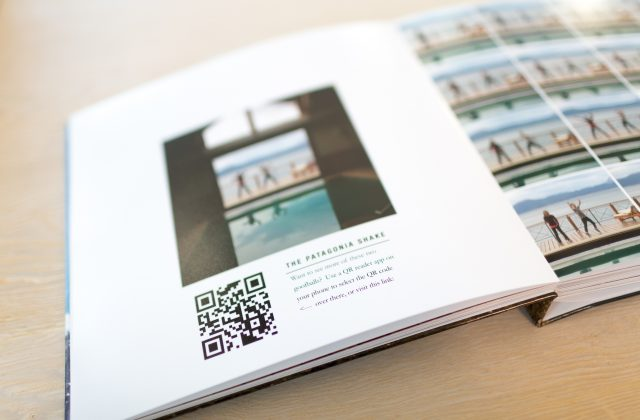 QR Codes + Photo Books = Magic