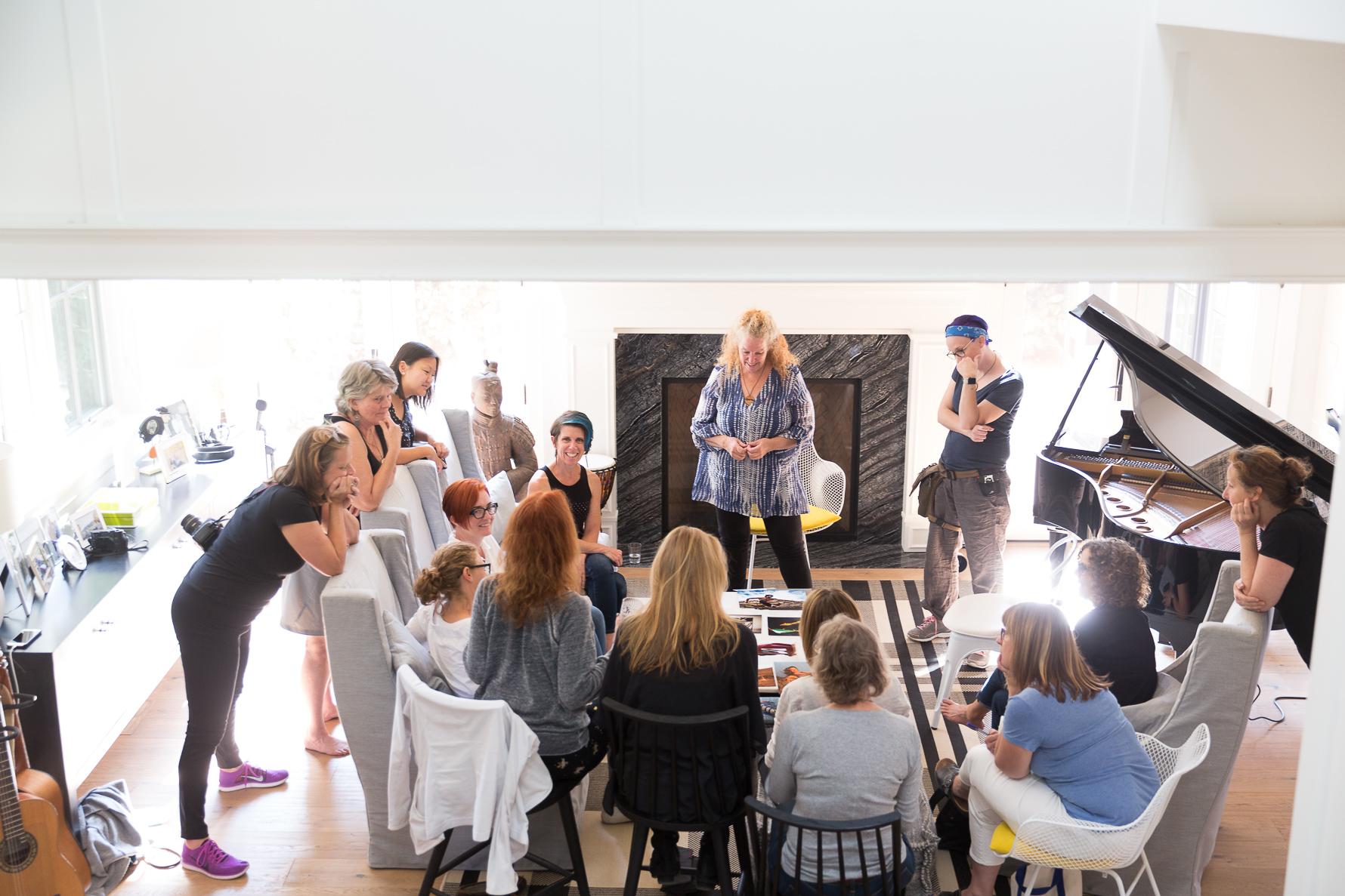 photography workshop for creative women san francisco bay area | firefly institute | suzanneobrienstudio.com